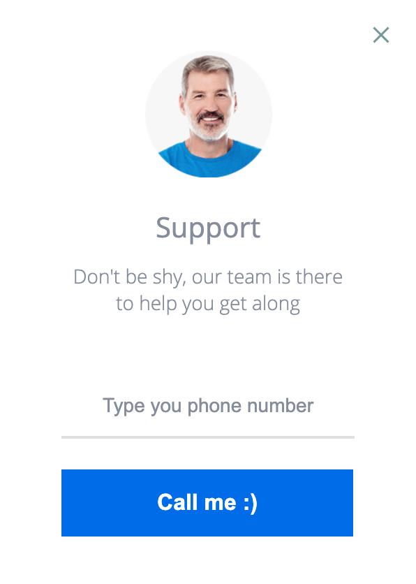 Medium support slider